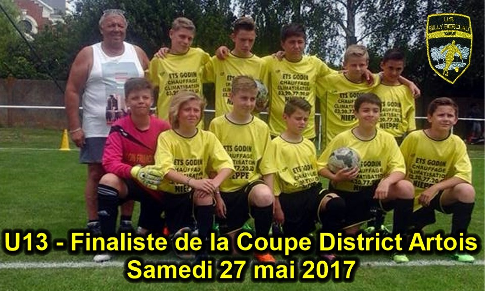 FINALE COUPE DISTRICT U11 et U13
